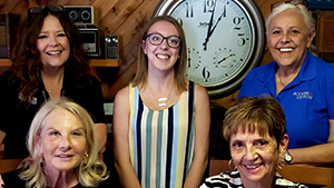 Connecting Caregivers Radio with Paige Gale, Arlene Grosso and Susan Brehm