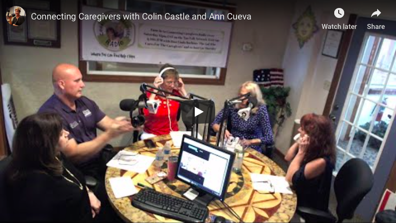 Connecting Caregivers with Colin Castle and Ann Cueva
