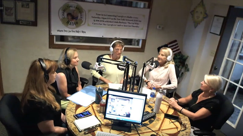 Connecting Caregivers Radio with Kathy Roberts Blair, Jen Moyer and Mary Lynn Wilkins