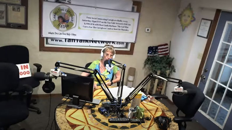 Connecting Caregivers Radio with Carolyn Brooker, Reflexologist & Chris Gaunt – Woofs for Warriors